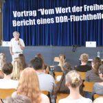 Vortrag über Fluchthilfe aus der DDR am Friedrich-Ebert-Gymnasium