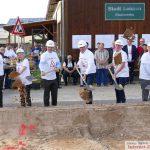 Erster Spatenstich: Baubeginn für das neue Verwaltungsgebäude der Stadtwerke Leimen