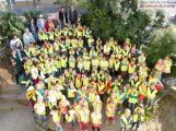 Erstklässler der Turmschule erhielten Verkehrs-Sicherheitswesten vom AC Leimen