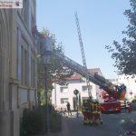 Übungslage: Brand in  Sandhäuser Schule – Ergebnis: Alle Kinder unverletzt gerettet