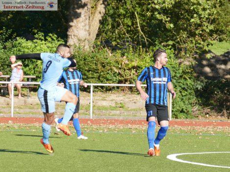 Kein Sieger beim Derby zwischen VfB Leimen und dem FC Badenia St. Ilgen 1:1