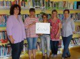 Förderverein der GSS erhält Spende vom Bücherflohmarkt der Liedertafel