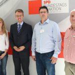 """Matthias Frick und MdB Lars Castellucci bei """"SPD-Blaulichtkonferenz"""""""