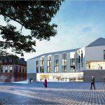 Bebauung des Rathausplatzes: Zeichnungen können im Rathaus eingesehen werden