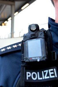 Bodycam bei der Polizei