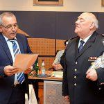 Drei Feuerwehrleute für langjährige Mitgliedschaft in Nußlocher Wehr geehrt