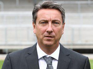 Juergen Machmeier, Präsident des SV Sandhausen
