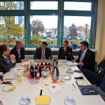 Staatssekretär Volker Schebesta zu Besuch in der Metropolregion