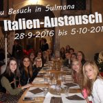 Friedrich-Ebert-Gymnasium: Italienaustausch 2016 – Besuch in Sulmona