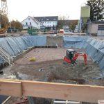 Neubau Verwaltungsgebäude Stadtwerke Leimen geht voran – Aushub unbedenklich