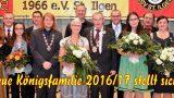 Königsfeier der Diljemer Sportschützen – </br>Neue Königsfamilie proklamiert
