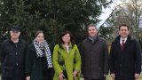 Haus + Grund Leimen spendete 500€ für Weihnachtsbaum im Kreisverkehr