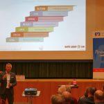 Gut besuchte Veranstaltung: Leimener Unternehmergespräch mit Martin Geiger