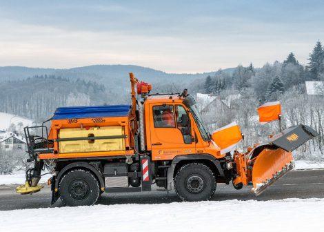Stadtwerke Leimen bereit für den Winter – 150 Tonnen Salz eingelagert