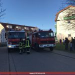 Arbeitseinsatz von Brandeinsatz unterbrochen