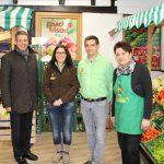 Oberbürgermeister Reinwald besuchte Hofladen Freudensprung in Gauangelloch