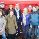 Sandhäuser SPD: Aktiv auf Weihnachtsmarkt und als Roter Nikolaus unterwegs