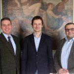 MdL Hermino Katzenstein zu Besuch im Leimener Rathaus