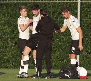 Freitag, 5. Trainingstag Testspiel gegen SV Sandhausen