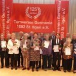 125 Jahre TV Germania St. Ilgen  – </br>Jubiläumsjahr startete mit Ehrungsabend