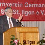Bruno Sauerzapf: Laudatio auf TV Germania St. Ilgen