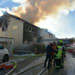 Gaiberg: Wohnhausbrand – zwei Leichtverletzte – 100 Feuerwehrleute im Einsatz