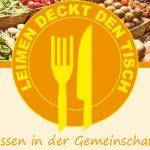 Leimen deckt den Tisch – Essen in der Gemeinschaft am 12. Februar
