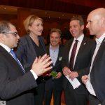 Neujahrsempfang von B90/Die Grünen in Leimen mit Simone Peter