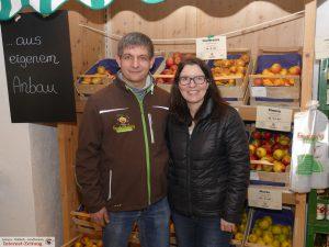 Tanja & Uwe Freudensprung im Hofladen in Gauangelloch
