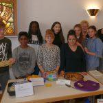 Leimen deckt den Tisch: Leckerer Nachtisch kam von Klasse 7a
