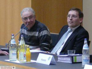 Sprecher der BI - v.l.: Wolfgang Renner, Alexander Hahn