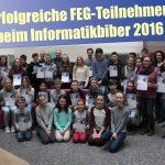 """Friedrich-Ebert-Gymnasium Sandhausen: Erfolge beim """"Informatikbiber"""""""