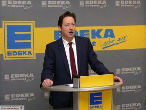 Hausherr Stefan Walter von EDEKA Walter Leimen