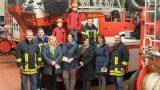 Nußlocher Feuerwehr übergibt Spenden der Christbaumaktion
