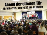 10. März: Abend der offenen Tür am  Friedrich-Ebert-Gymnasium Sandhausen