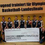 Jugend trainiert für Olympia Basketball am FEG: Teilnahme am Landesfinale