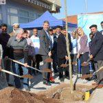 Ahmadiyya Muslim Jaamat Gemeinde spendet Feldahorn – Standort Europaplatz in St. Ilgen
