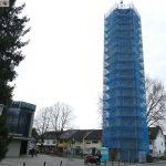 Rundblick von Sandhausens höchstem Punkt – Kirchturm wird für 165.000€ saniert