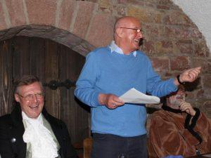 Manfred Zugck erzählte Leimener Anekdoten