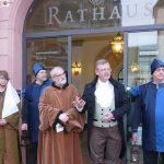 Historische Stadtführung: Das Leimener Mittelalter wurde wieder lebendig