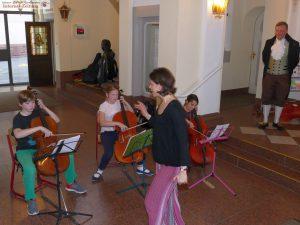 Streicherensemble der Musikschule Leimen