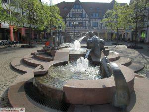 Georgiplatz-Brunnen