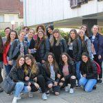 Italienische Austausch-Schülerinnen aus Sulmona unterwegs in der Region