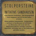 """Verlegung von """"Stolpersteinen"""" in Sandhausen – FEG-Schüler treffen Zeitzeugen"""
