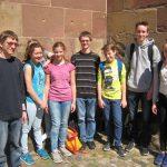 Begeistert: Ministranten der Seelsorgeeinheit bei der Chrisam-Messe in Freiburg