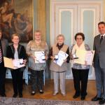 Kulturmedaille in Gold an verdiente Mitglieder der AWO Leimen verliehen