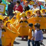 Nußlochs Kleinste auf langem Marsch: </br>Süße Brezeln als Belohnung