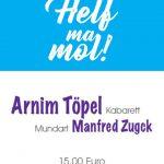 """125 Jahre """"Gemeindeverein"""" mit Arnim Töpel & Manfred Zugck"""
