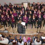 Sie waren überall in der Kirche: </br>Bright Light begann Konzert à la Flashmob