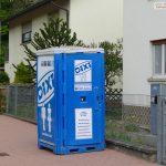 Arme Bauarbeiter in Sandhausen: </br>Bis zum nächsten Dixi-Klo sind es 600 Meter